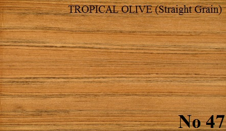 TROPICAL OLIVE Straight Grain