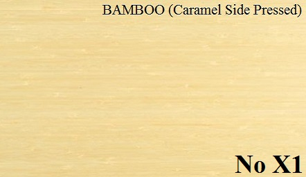 BAMBOO Caramel Side Pressed