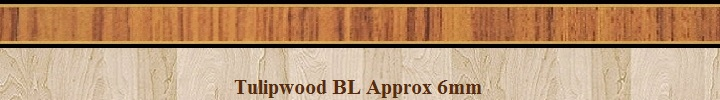 Banding Tulipwood-BL 6mm image