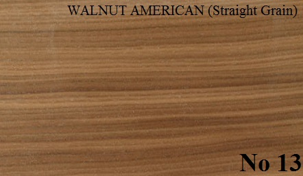 WALNUT AMERICAN Straight Grain