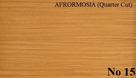 AFRORMOSIA quartered