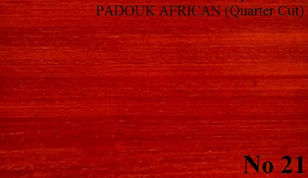PADOUK African quartered