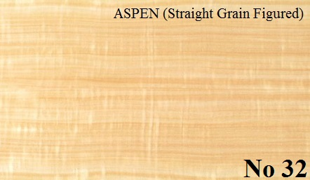 ASPEN Straight Grain Figured