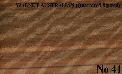 WALNUT AUSTRALIAN Quarter Figured