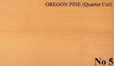 OREGON PINE Quartered