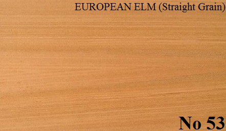 ELM EUROPEAN Straight Grain