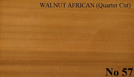 WALNUT AFRICAN Quartered