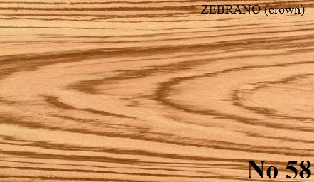 ZEBRANO Crown Cut