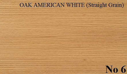 OAK AMERICAN WHITE Straight Grain
