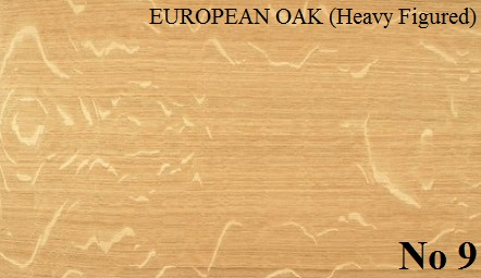 OAK EUROPEAN (Heavy Figured)