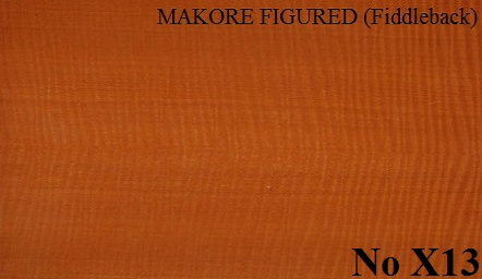 MAKORE FIGURED (Fiddleback)