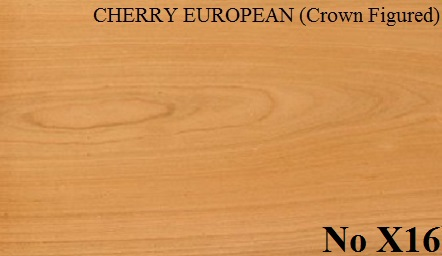CHERRY EUROPEAN (Crown Figured)
