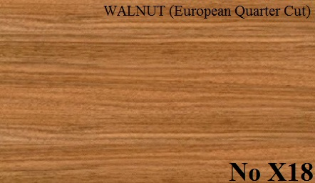 WALNUT (European Quarter Cut)