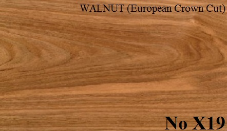 WALNUT (European Crown Cut)