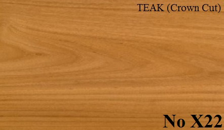 TEAK (Crown Cut)