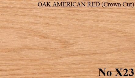 OAK AMERICAN RED (Crown Cut)