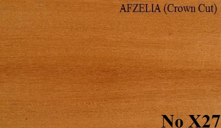 AFZELIA Crown Cut