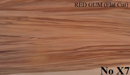 RED GUM Flat Cut