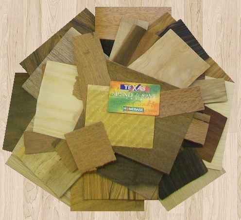 |Flat cut veneer marquetry pieces